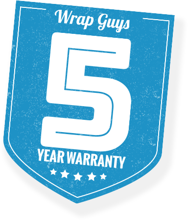 5 year vinyl wrap warranty