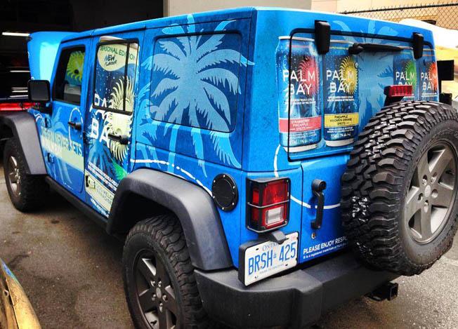 Palm Bay full vehicle wrap