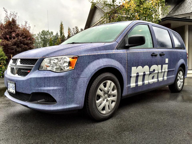 Mavi Jeans full vehicle wrap