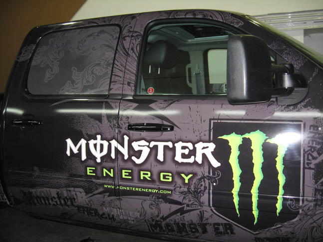 Monster Energy full vehicle wrap