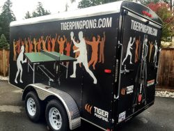 Tiger Ping Pong full trailer wrap