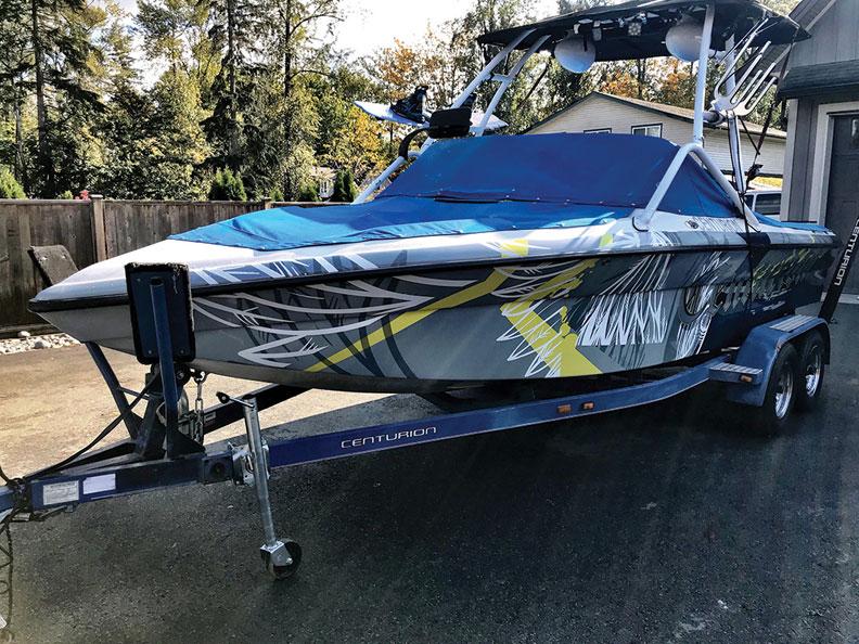 Boat wraps that make a big splash