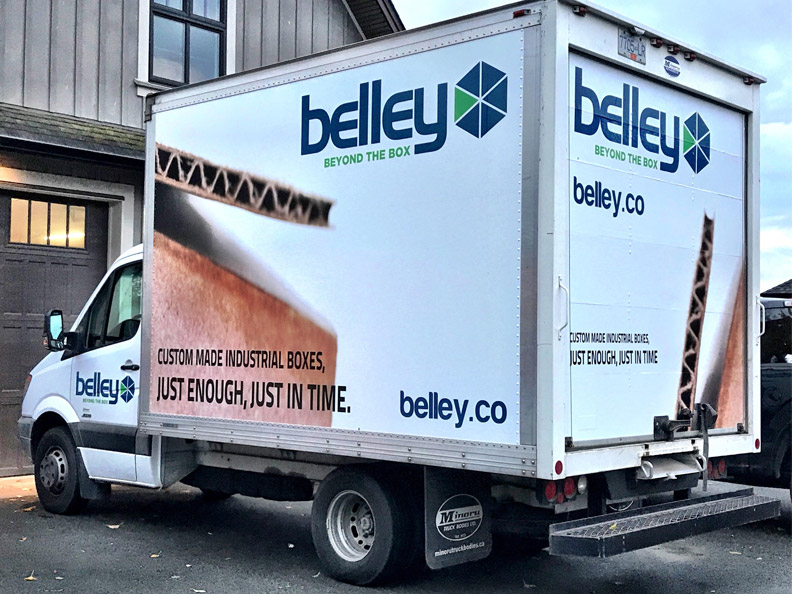 Vehicle wraps for small Seattle businesses